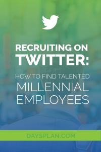 Find great young employees online with Twitter recruiting. We give you the complete lowdown in this helpful post for HR managers!